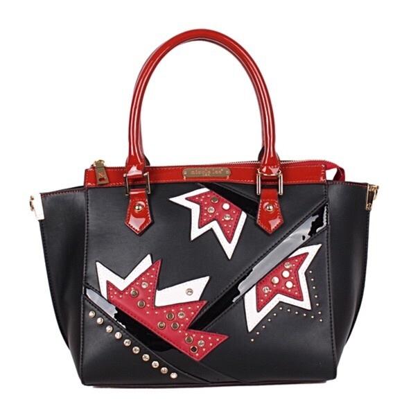 Nicole Lee Handbags - ✤ Asymmetrical Color Block Tote Bag